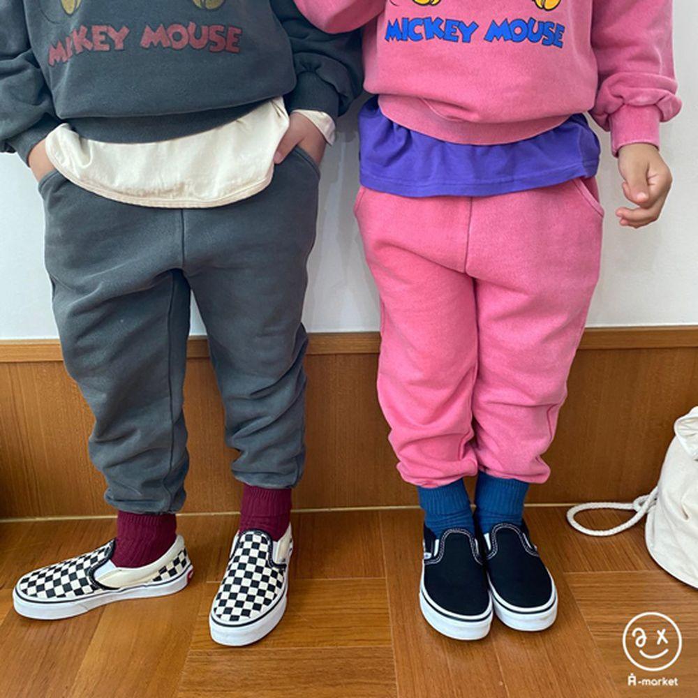 A-MARKET - Korean Children Fashion - #Kfashion4kids - Color Short Socks [set of 4 - 5