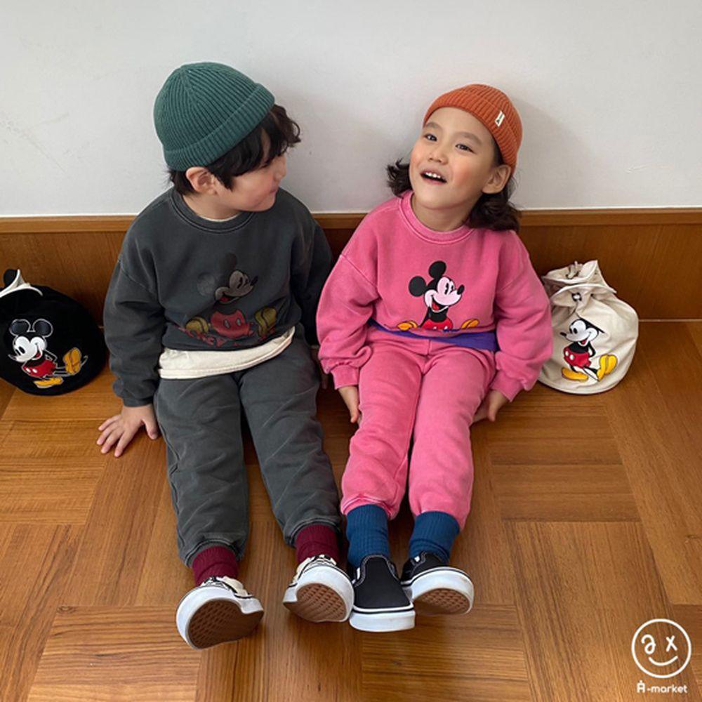 A-MARKET - Korean Children Fashion - #Kfashion4kids - Color Short Socks [set of 4 - 6