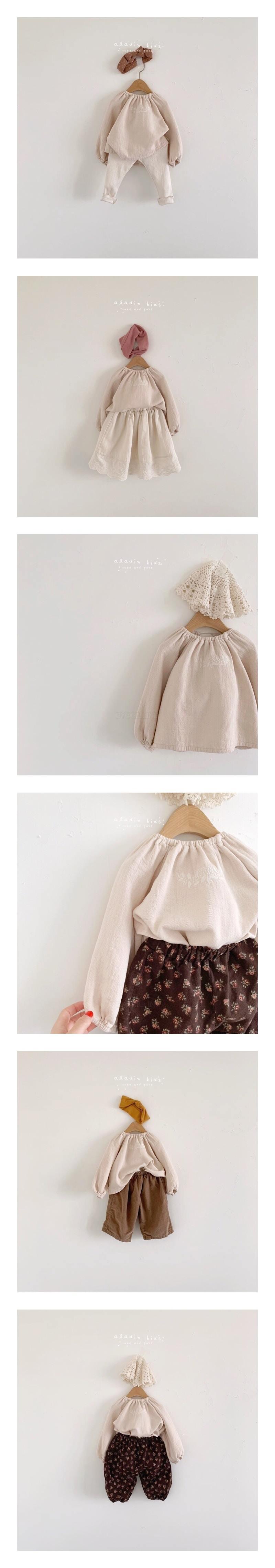 ALADIN - Korean Children Fashion - #Kfashion4kids - Linda Blouse
