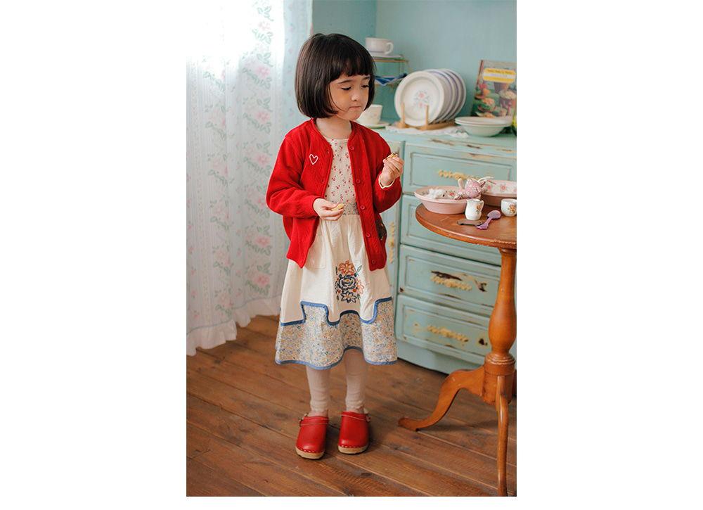 AMBER - Korean Children Fashion - #Kfashion4kids - Mongsu Cardigan