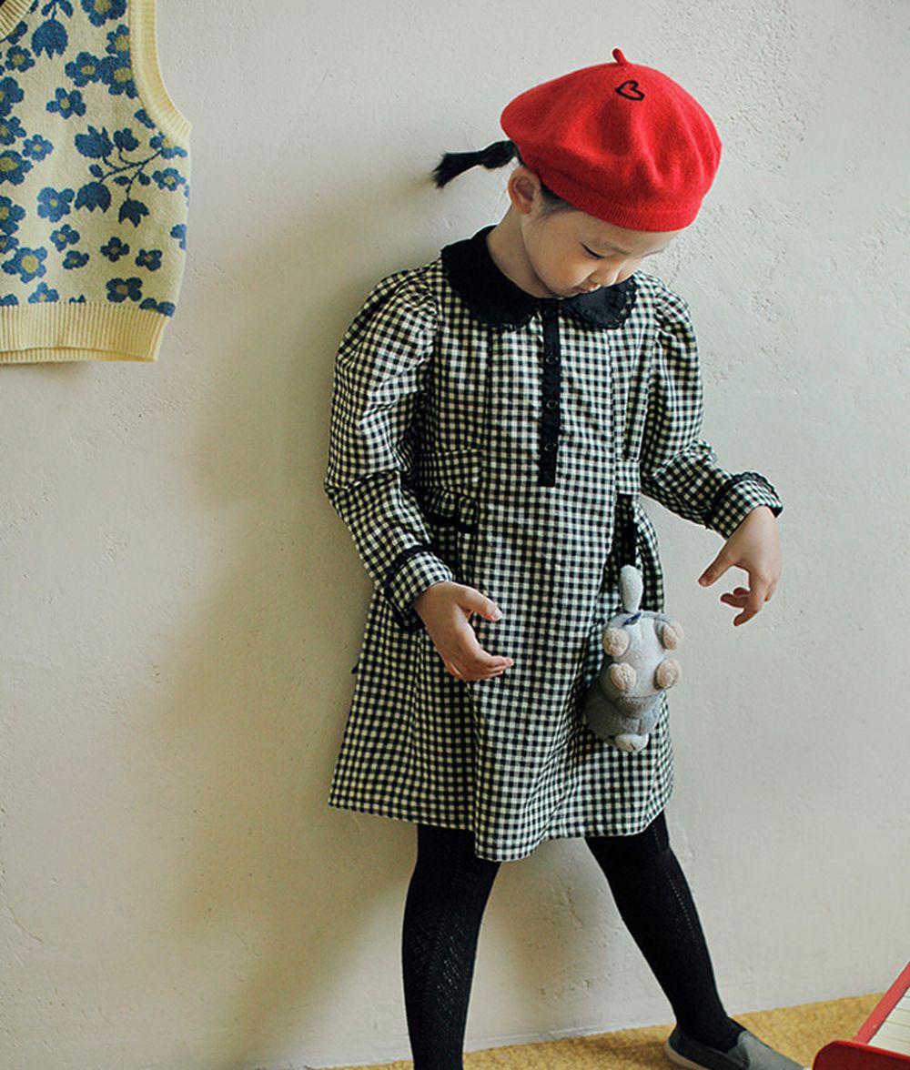 AMBER - BRAND - Korean Children Fashion - #Kfashion4kids - Mone One-piece