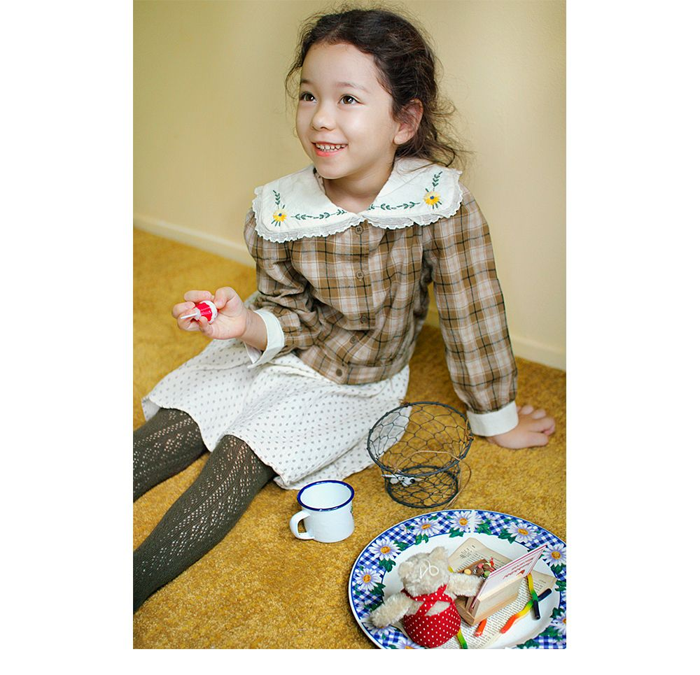 AMBER - Korean Children Fashion - #Kfashion4kids - Coco Blouse