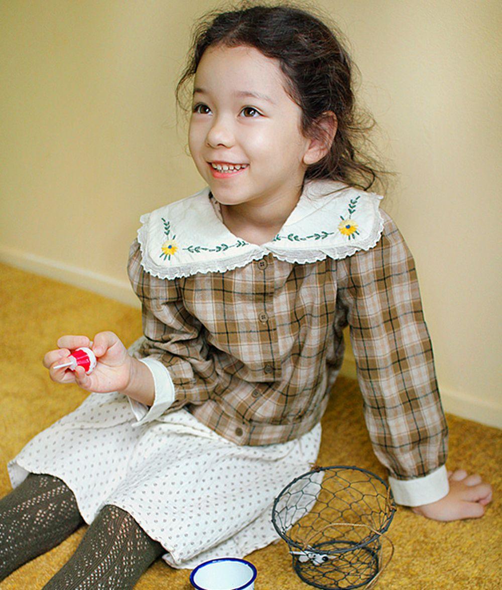 AMBER - BRAND - Korean Children Fashion - #Kfashion4kids - Coco Blouse