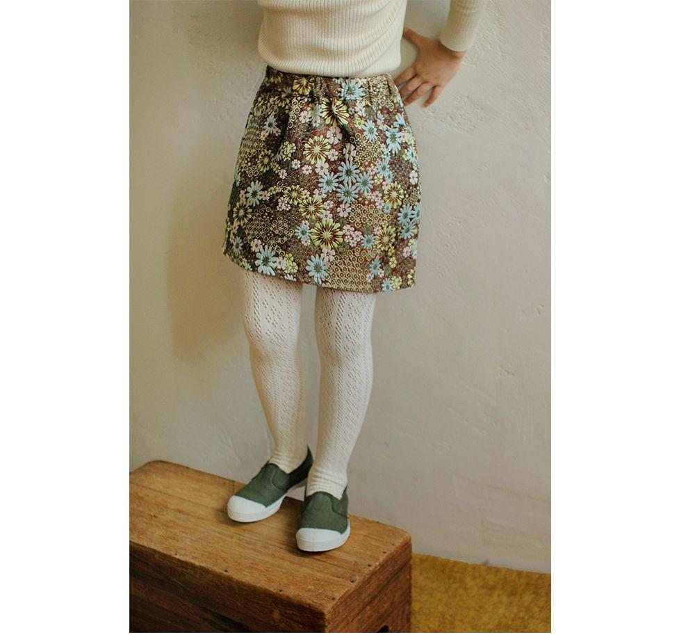 AMBER - Korean Children Fashion - #Kfashion4kids - Miel Jacquard Skirt