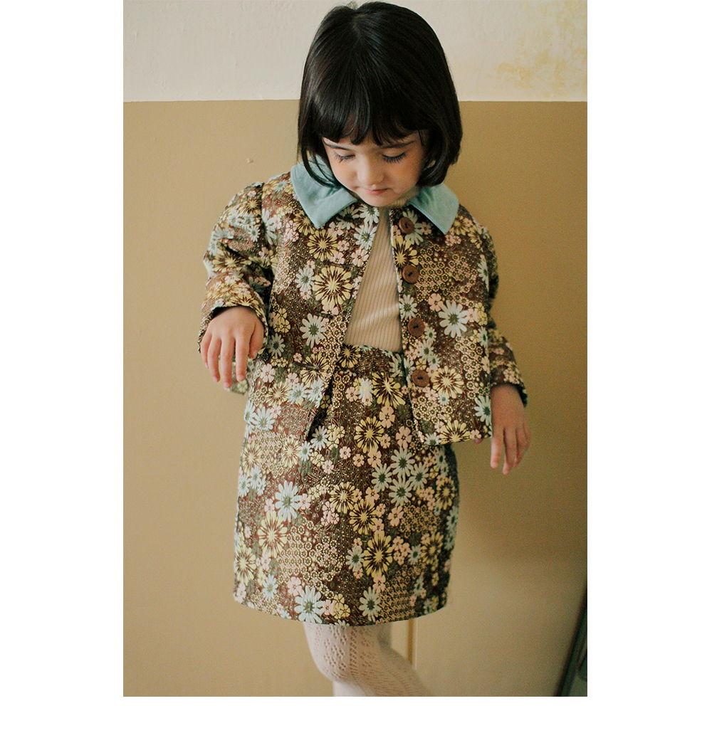 AMBER - Korean Children Fashion - #Kfashion4kids - Monter Jacquard Jacket