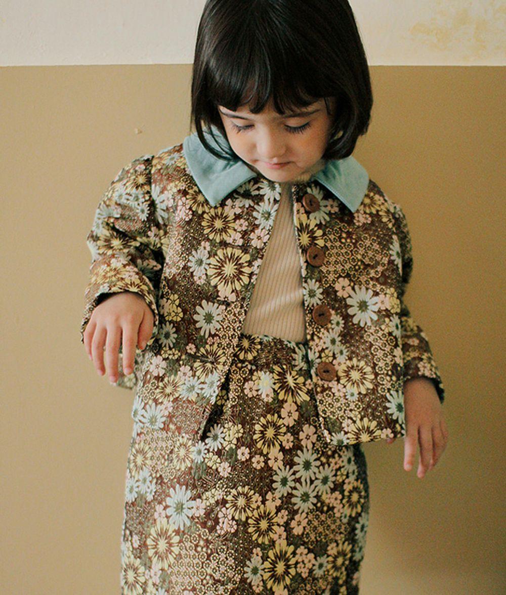 AMBER - BRAND - Korean Children Fashion - #Kfashion4kids - Monter Jacquard Jacket