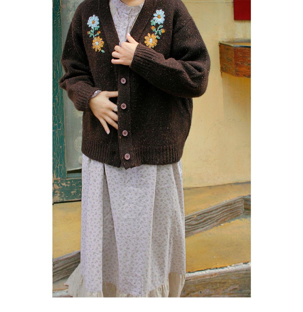 AMBER - Korean Children Fashion - #Kfashion4kids - Adult Sage Cardigan