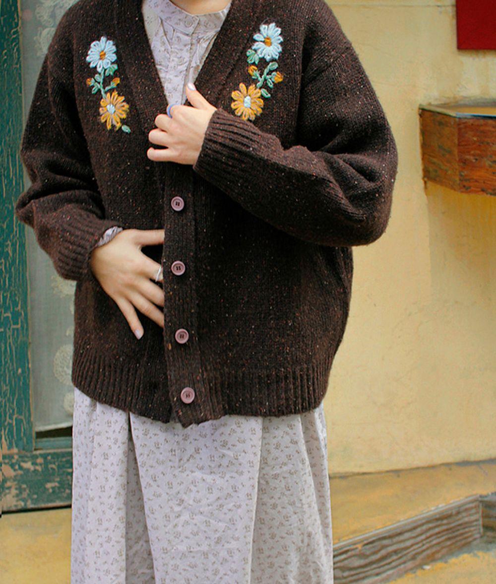 AMBER - BRAND - Korean Children Fashion - #Kfashion4kids - Adult Sage Cardigan