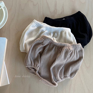 ANNE SHIRLEY - BRAND - Korean Children Fashion - #Kfashion4kids - Knit Rib Bloomer