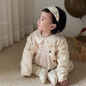 ANNE SHIRLEY - BRAND - Korean Children Fashion - #Kfashion4kids - Heart Collar One-piece