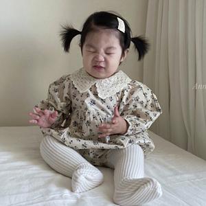 ANNE SHIRLEY - BRAND - Korean Children Fashion - #Kfashion4kids - Cotton Collar Bodysuit