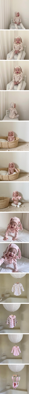 ANNE SHIRLEY - Korean Children Fashion - #Kfashion4kids - Sally Rabbit Bodysuit with Hat