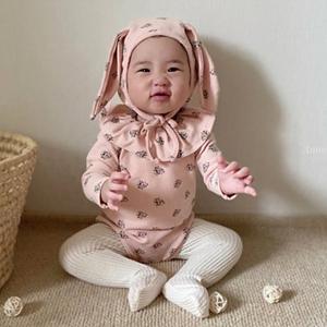 ANNE SHIRLEY - BRAND - Korean Children Fashion - #Kfashion4kids - Sally Rabbit Bodysuit with Hat