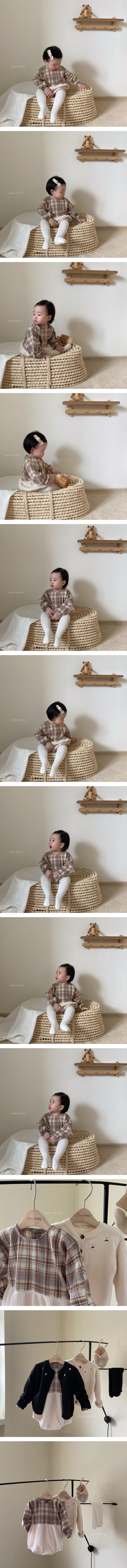 ANNE SHIRLEY - Korean Children Fashion - #Kfashion4kids - Cookie Waffle Bodysuit