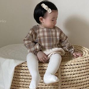 ANNE SHIRLEY - BRAND - Korean Children Fashion - #Kfashion4kids - Cookie Waffle Bodysuit