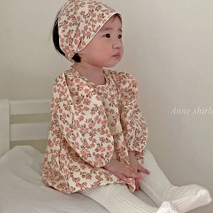 ANNE SHIRLEY - BRAND - Korean Children Fashion - #Kfashion4kids - Shirley Puff Bodysuit with Hairband