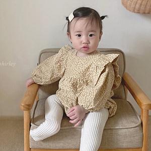 ANNE SHIRLEY - BRAND - Korean Children Fashion - #Kfashion4kids - Lally Frill Bodysuit