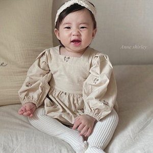 ANNE SHIRLEY - BRAND - Korean Children Fashion - #Kfashion4kids - Chloe Embroidery Bodysuit