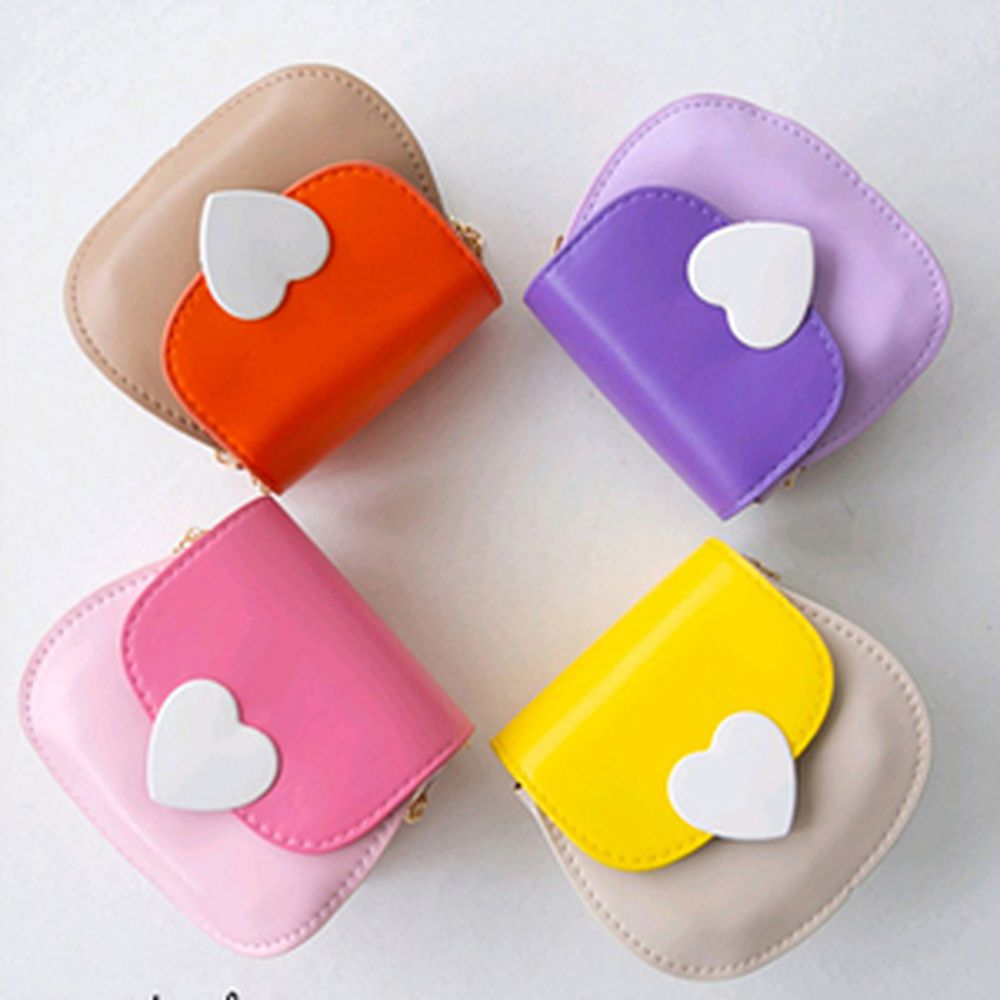 ANTE J - BRAND - Korean Children Fashion - #Kfashion4kids - Colored Heart Bag