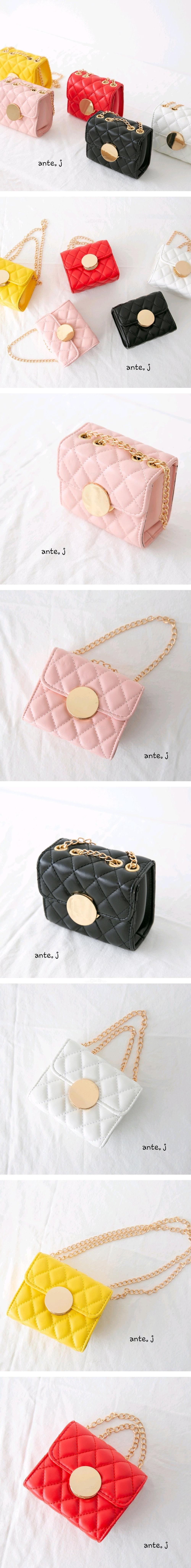 ANTE J - Korean Children Fashion - #Kfashion4kids - Circle Square Bag
