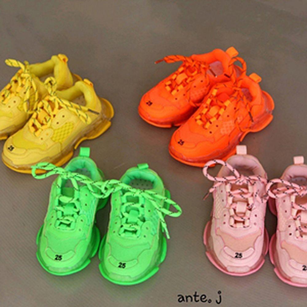 ANTE J - BRAND - Korean Children Fashion - #Kfashion4kids - Neon Sneakers