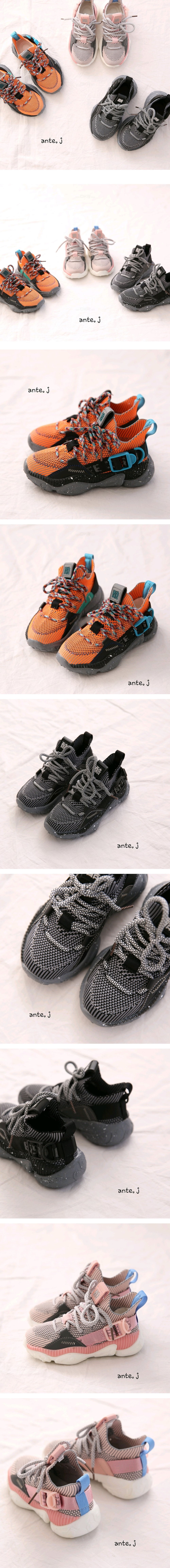 ANTE J - Korean Children Fashion - #Kfashion4kids - Alpha Sneakers