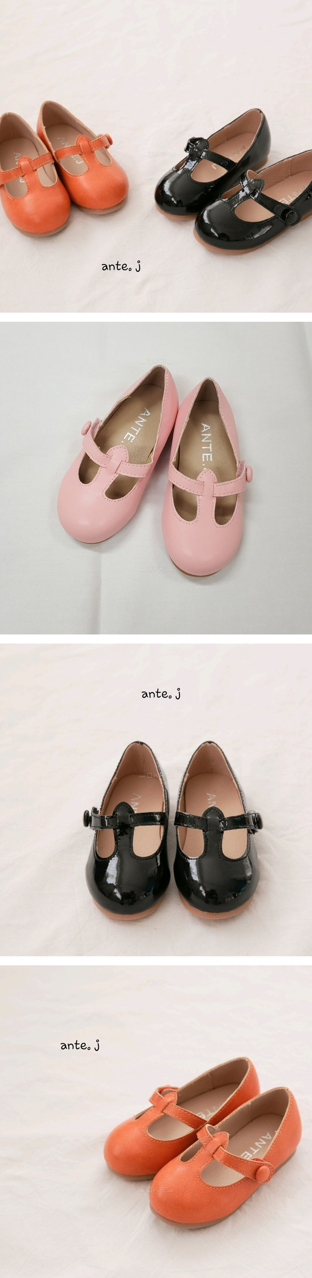 ANTE J - Korean Children Fashion - #Kfashion4kids - Shunun Flat