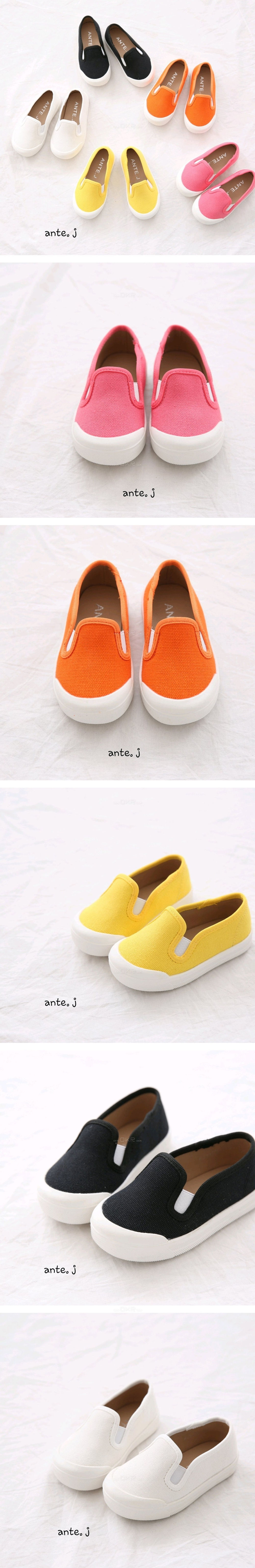 ANTE J - Korean Children Fashion - #Kfashion4kids - Cozy Slip-on