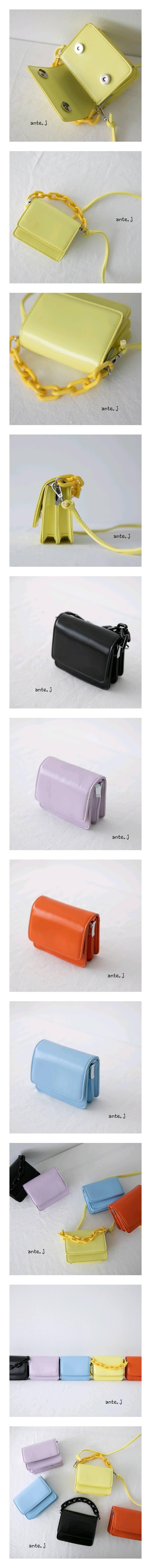 ANTE J - Korean Children Fashion - #Kfashion4kids - Square Simple Bag