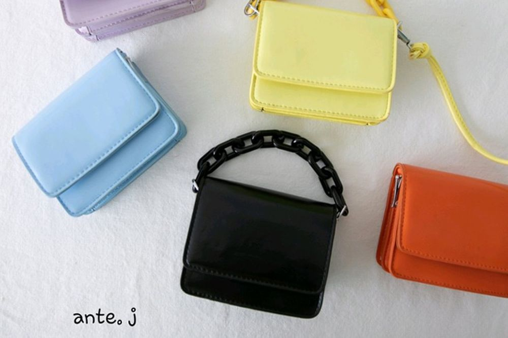ANTE J - BRAND - Korean Children Fashion - #Kfashion4kids - Square Simple Bag