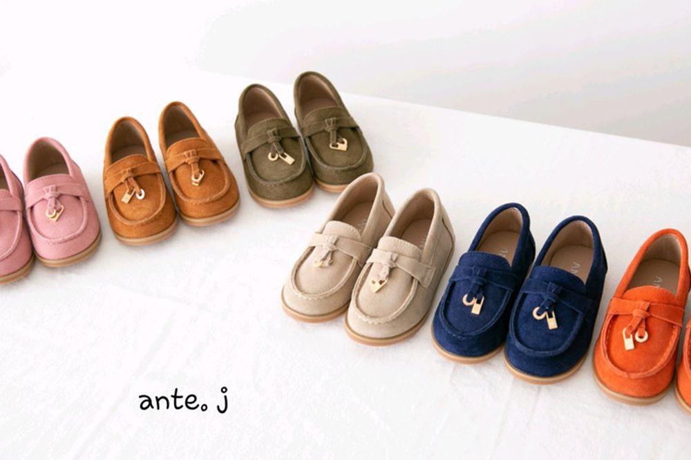 ANTE J - BRAND - Korean Children Fashion - #Kfashion4kids - Leather Roro Loafer