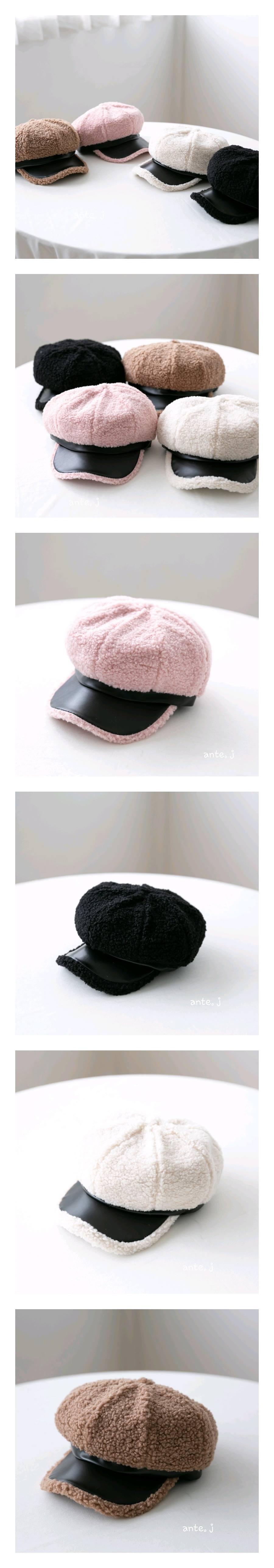 ANTE J - Korean Children Fashion - #Kfashion4kids - Vison Beret