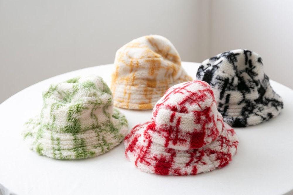 ANTE J - BRAND - Korean Children Fashion - #Kfashion4kids - Check Bucket Hat