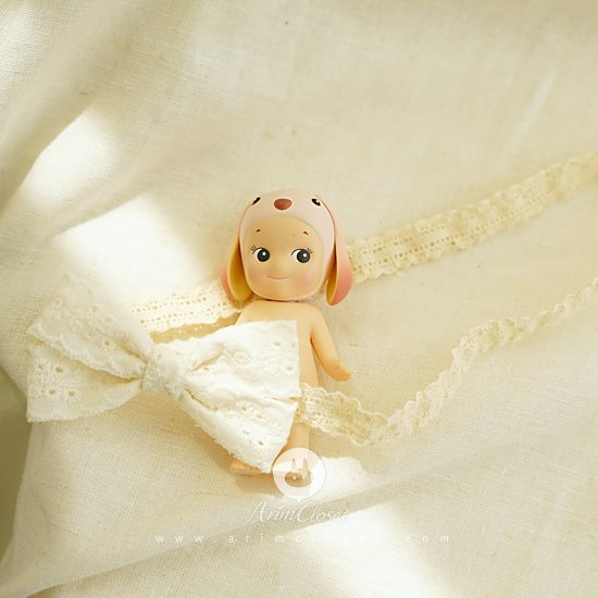 ARIM CLOSET - BRAND - Korean Children Fashion - #Kfashion4kids - Small Lace Ribbon Hairband