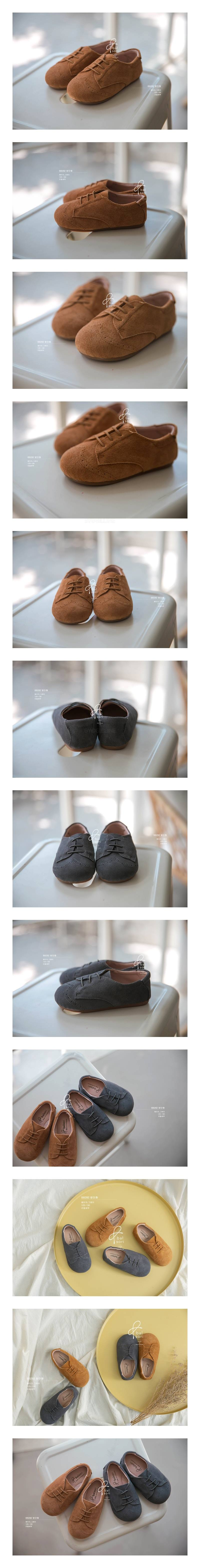 BABYZZAM - Korean Children Fashion - #Kfashion4kids - Chestnut Flat