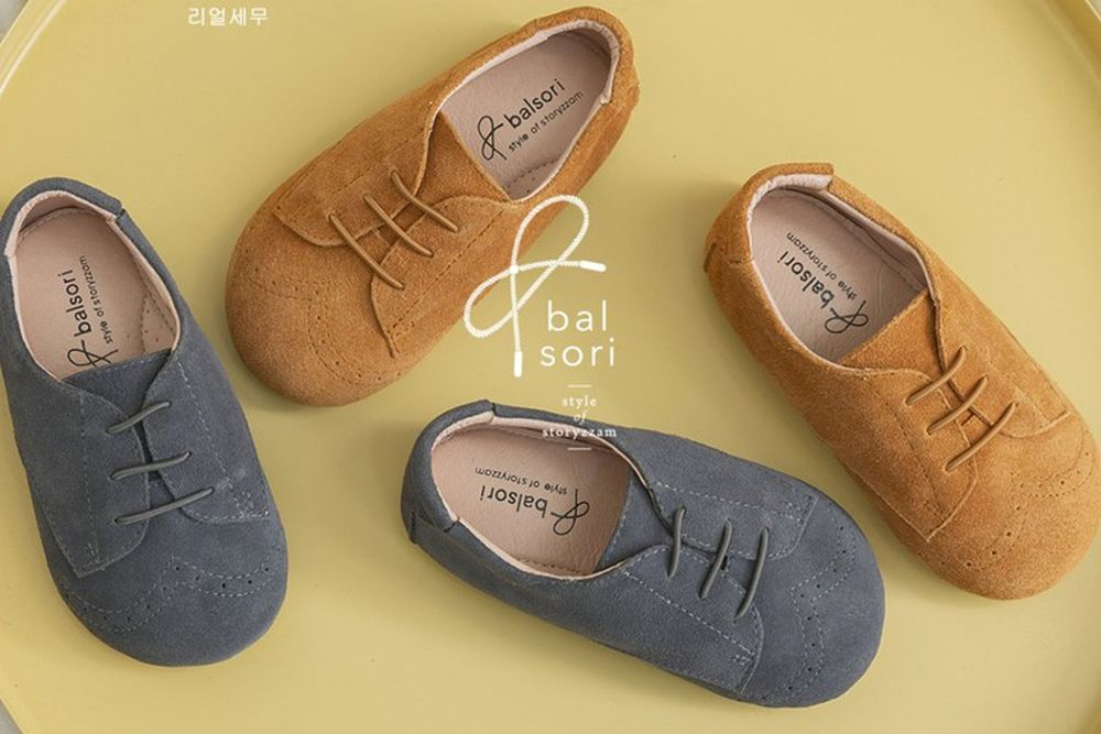 BABYZZAM - BRAND - Korean Children Fashion - #Kfashion4kids - Chestnut Flat