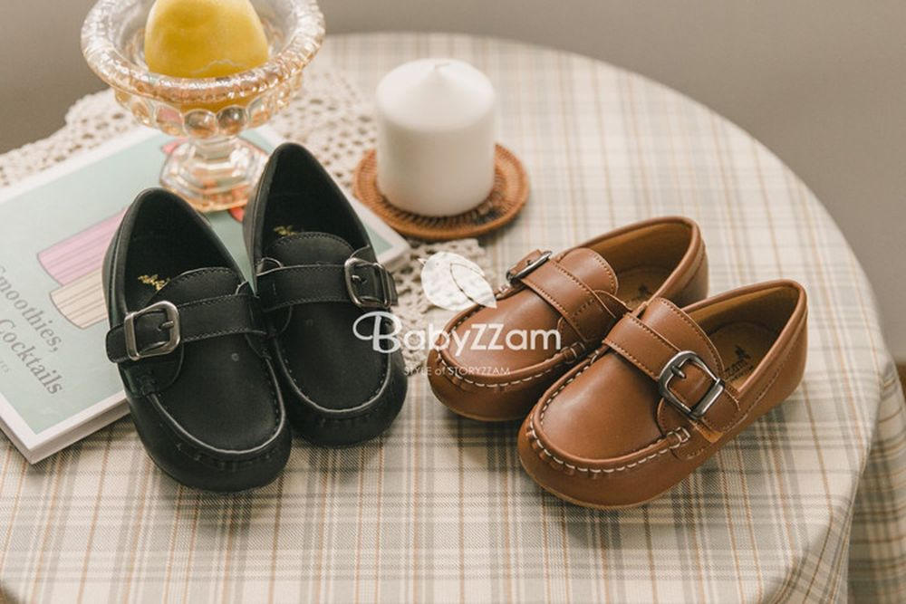 BABYZZAM - BRAND - Korean Children Fashion - #Kfashion4kids - Peanut Loafer