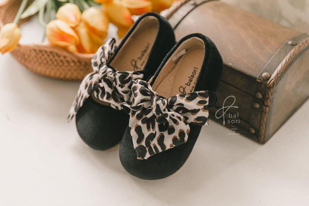 BABYZZAM - BRAND - Korean Children Fashion - #Kfashion4kids - Loose Leopard Flat