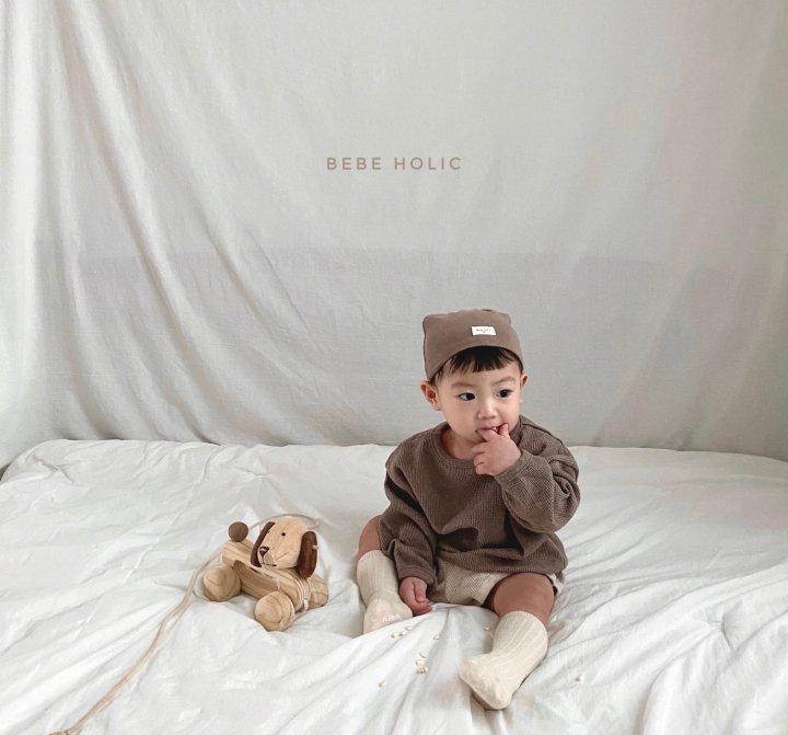 BEBE HOLIC - Korean Children Fashion - #Kfashion4kids - Waffle Top Bottom Set - 7