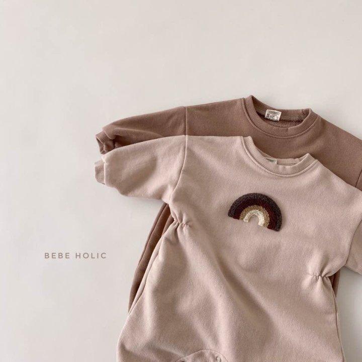 BEBE HOLIC - Korean Children Fashion - #Kfashion4kids - Rainbow Buckle Bodysuit - 4
