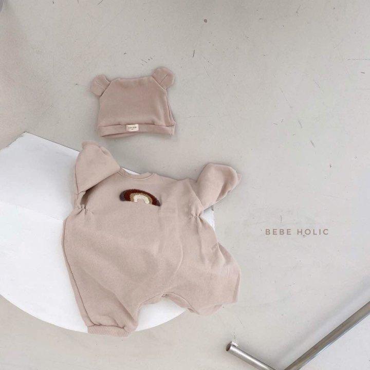 BEBE HOLIC - Korean Children Fashion - #Kfashion4kids - Rainbow Buckle Bodysuit - 5