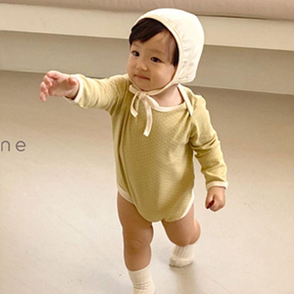 BEBE NINE - BRAND - Korean Children Fashion - #Kfashion4kids - Comment Romper with Hat