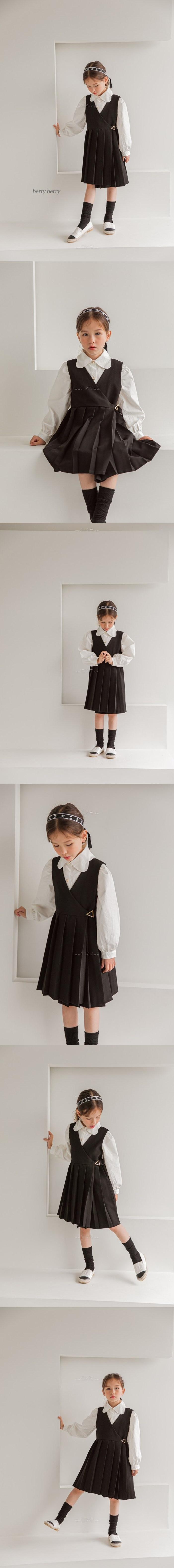 BERRY BERRY - Korean Children Fashion - #Kfashion4kids - Jam Blouse