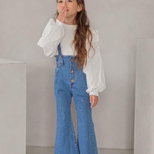 BERRY BERRY - BRAND - Korean Children Fashion - #Kfashion4kids - Denim Overalls