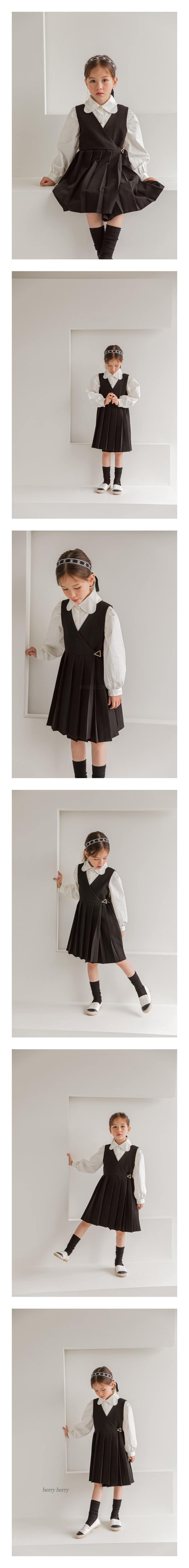BERRY BERRY - Korean Children Fashion - #Kfashion4kids - Bene One-piece