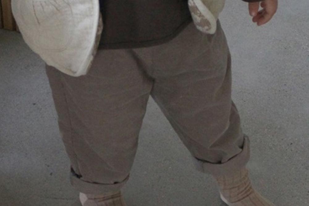 BONALOI - BRAND - Korean Children Fashion - #Kfashion4kids - 21 Corduory Pants