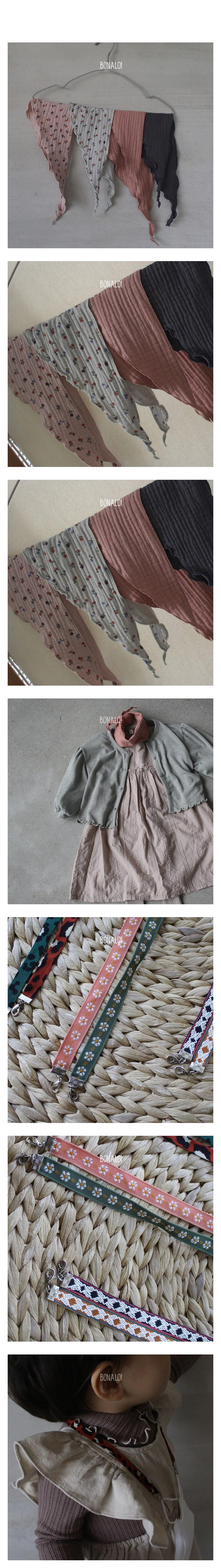 BONALOI - Korean Children Fashion - #Kfashion4kids - Petit Scarf