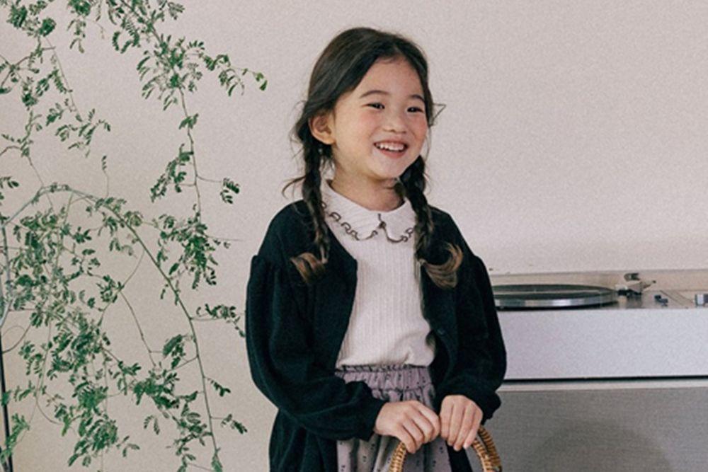 BONALOI - BRAND - Korean Children Fashion - #Kfashion4kids - Daily Knit Cardigan