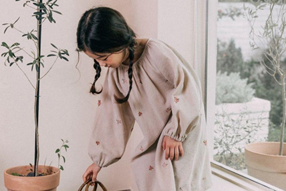BONALOI - BRAND - Korean Children Fashion - #Kfashion4kids - Collie One-piece
