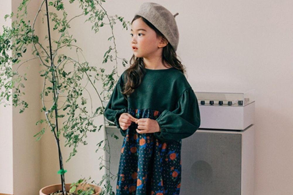 BONALOI - BRAND - Korean Children Fashion - #Kfashion4kids - Begonia Colored One-piece